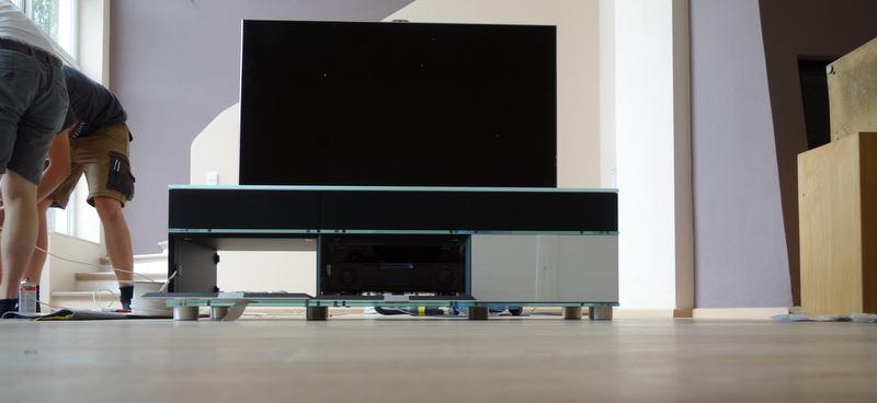 Montage und Installation von Unterhaltungselektronik