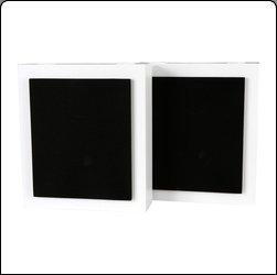 Lautsprecher für die Wand in schwarz hochglanz oder weiß