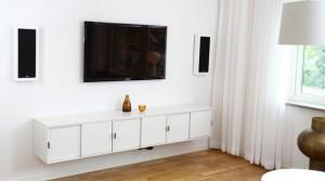 Der Lautsprecher für die Wand