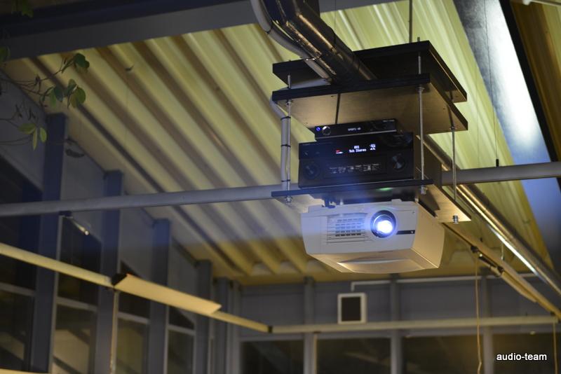 Videoprojektor mit Montage und Installation