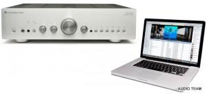 Azur 651 von cambridge audio beim audio team in Ismaning zwischen muenchen und erding