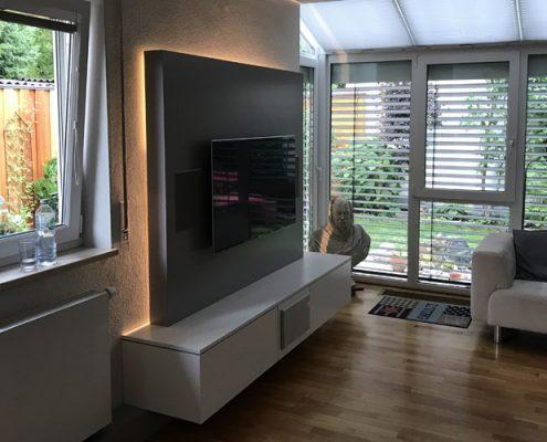 TV-Media Wohnwand