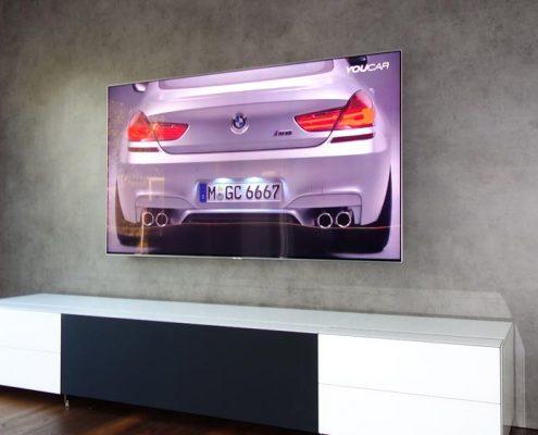 TV Hifi Wohnwand für unseren Kunden aus München
