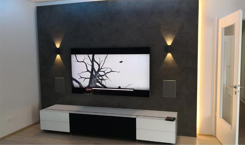 Home Entertainment Im Wohnzimmer Audio Team Home Entertainment