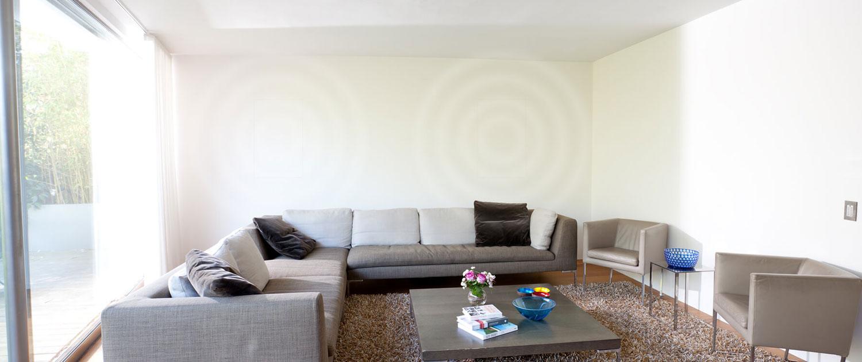 Unsichtbare Einbaulautsprecher für Home Entertainment Planung, Beratung, Montage. Bei Audio-Team München
