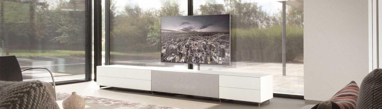 Spectral Cocoon TV Möbel Wohnwand. Erhältlich bei Audio-Team München