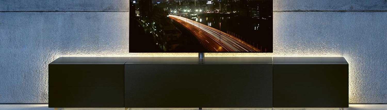 Spectral TV Möbel Wohnwand. Erhältlich bei Audio-Team München